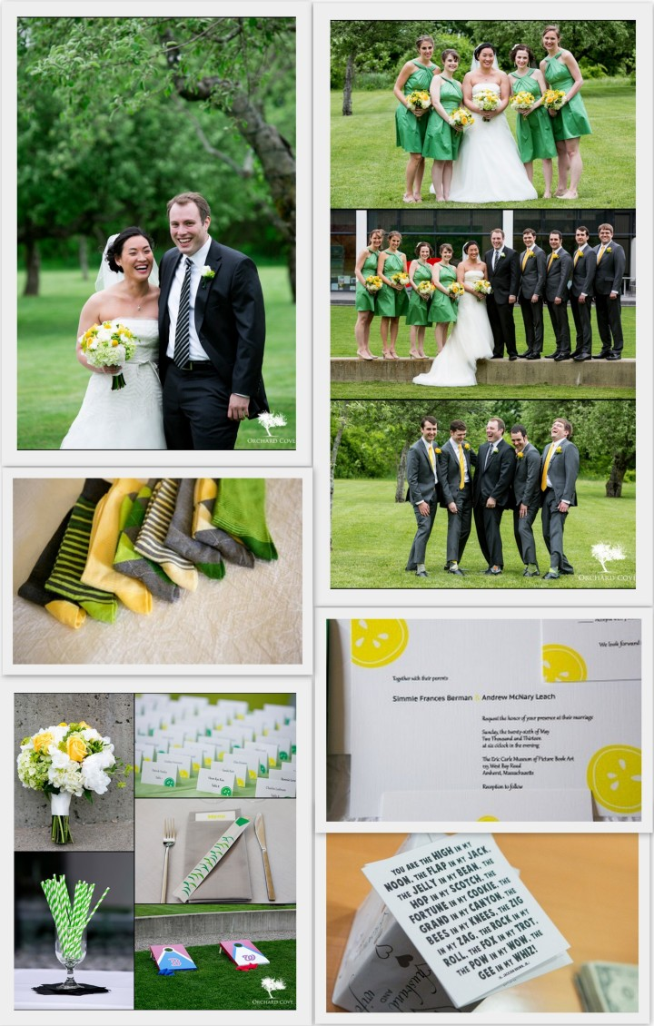 Simmi and Andrew's Spring Wedding