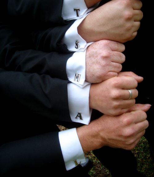 Cufflinks- Gifts Ideas for Groom Groomsmen