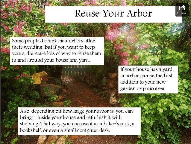 Creative Ways to Use Arbors in Weddings