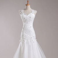 A Wedding Gown & Accessories
