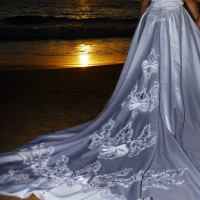 STUNNING WEDDING DRESS bridal gown