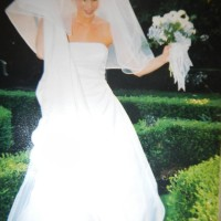~Davids Bridal Michael Angelo Wedding Dress Sz 4~